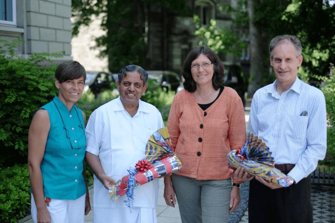 Pressebild des BDY und der Svyasa University